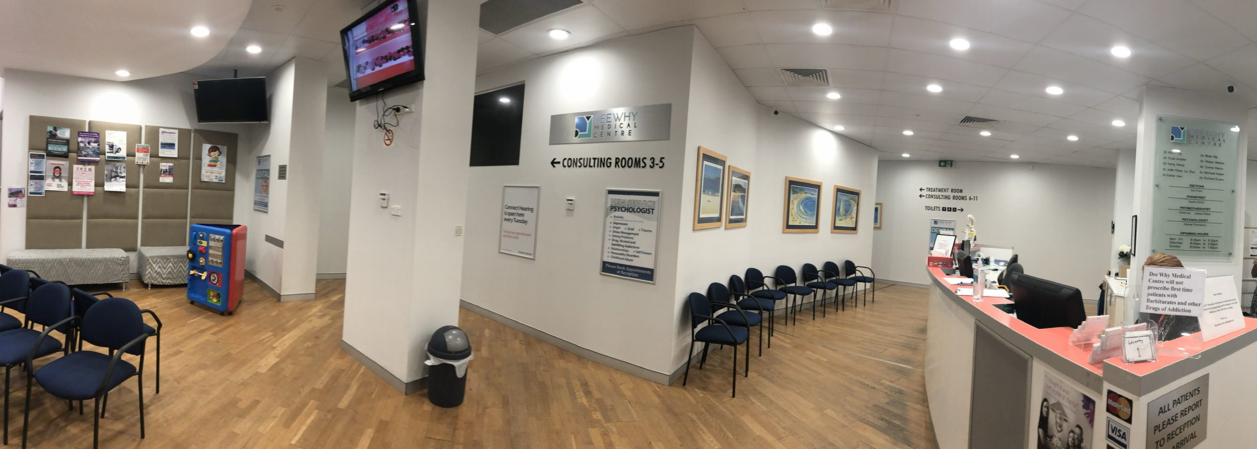 Dee Why Medical Centre Reception